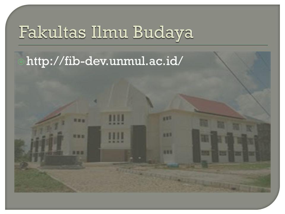 Fakultas Ilmu Budaya http://fib-dev.unmul.ac.id/