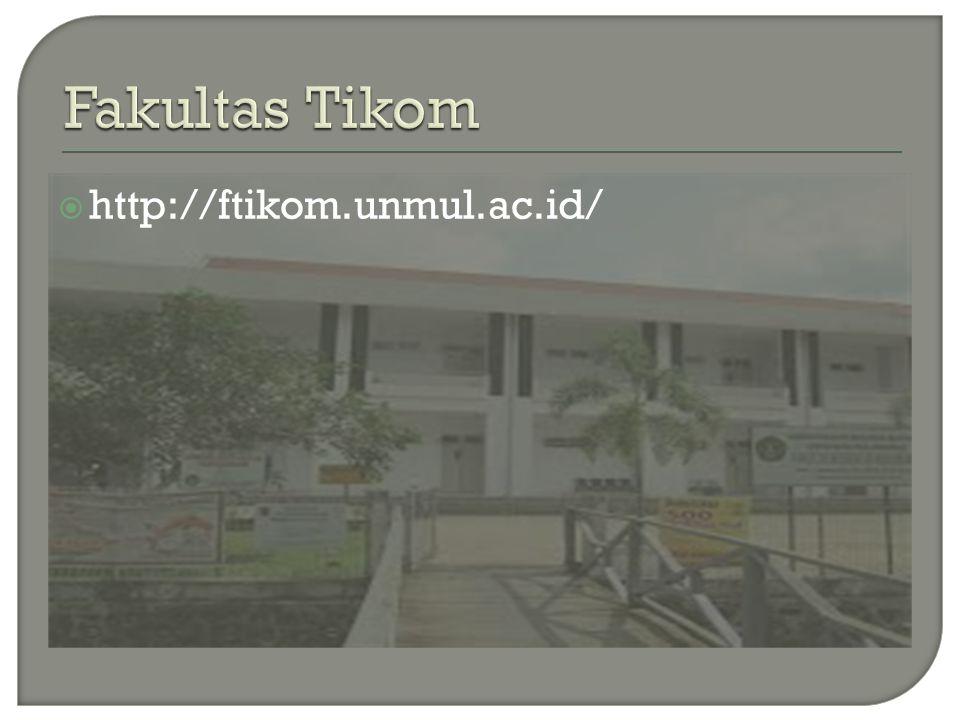Fakultas Tikom http://ftikom.unmul.ac.id/