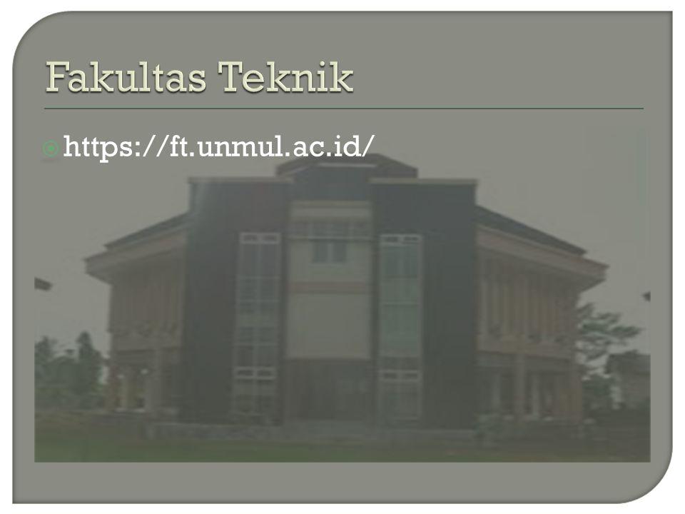 Fakultas Teknik https://ft.unmul.ac.id/