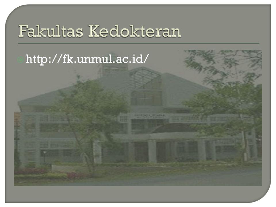 Fakultas Kedokteran http://fk.unmul.ac.id/