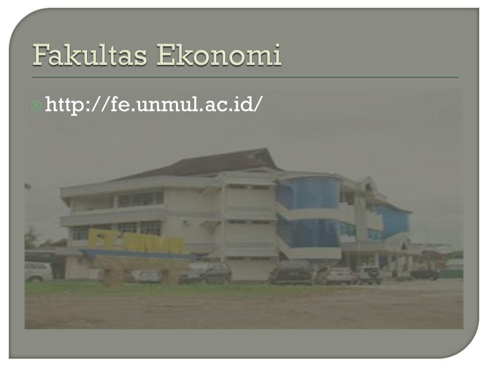 Fakultas Ekonomi http://fe.unmul.ac.id/