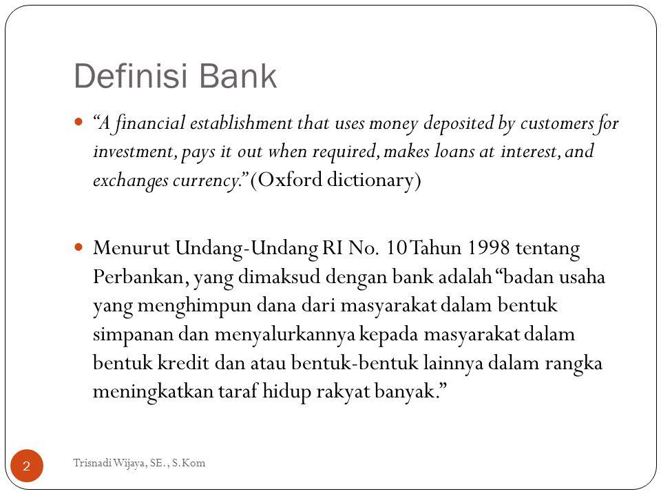 Definisi Bank