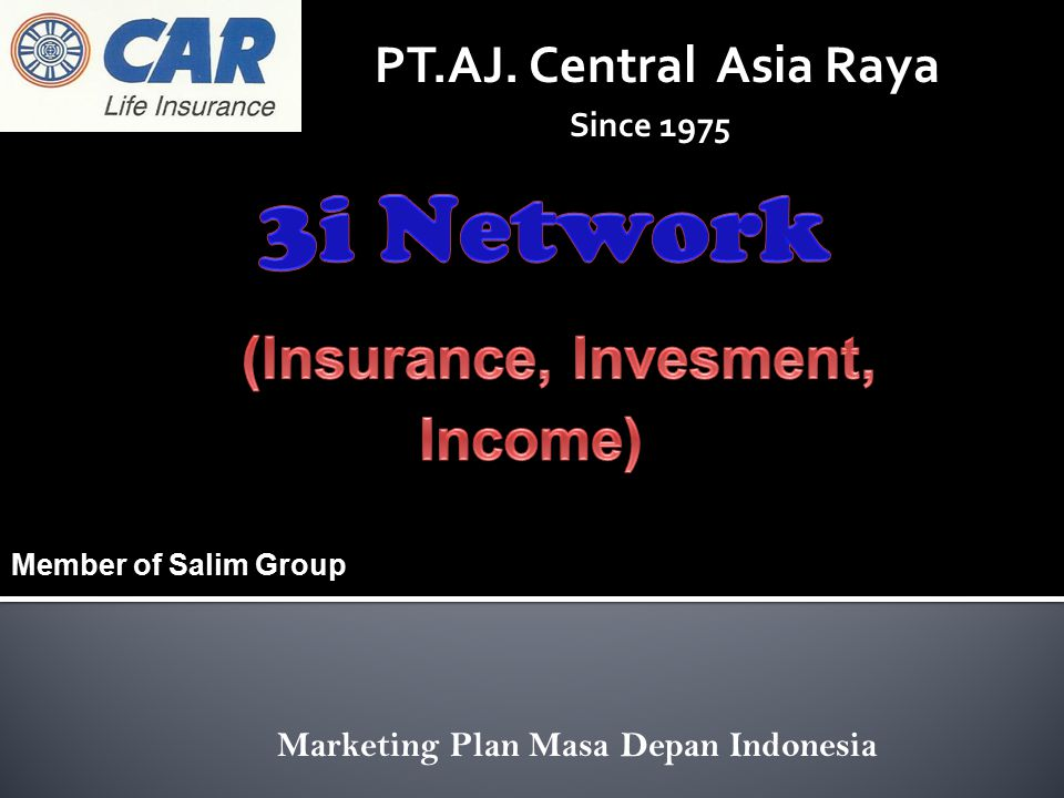 (Insurance, Invesment, Income)
