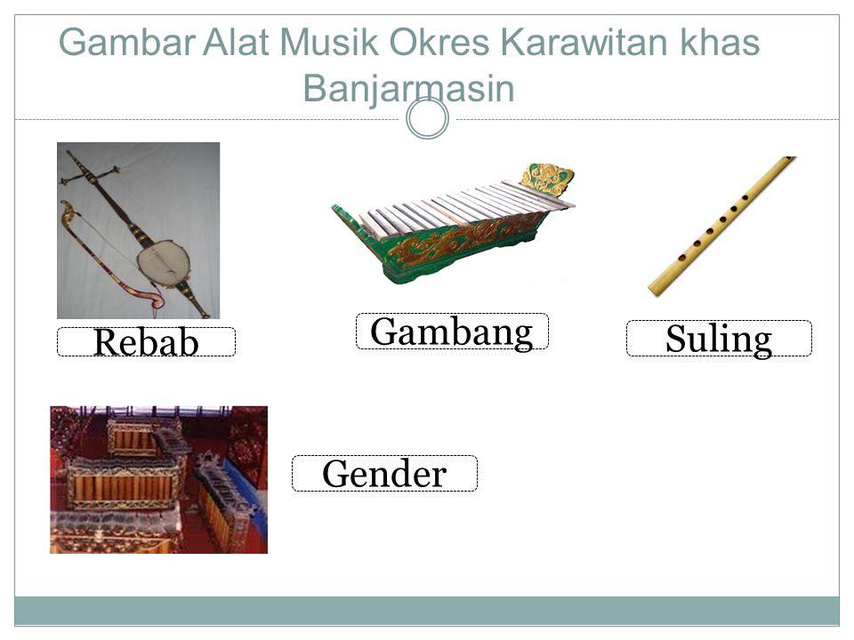 Gambar Alat Musik Okres Karawitan khas Banjarmasin