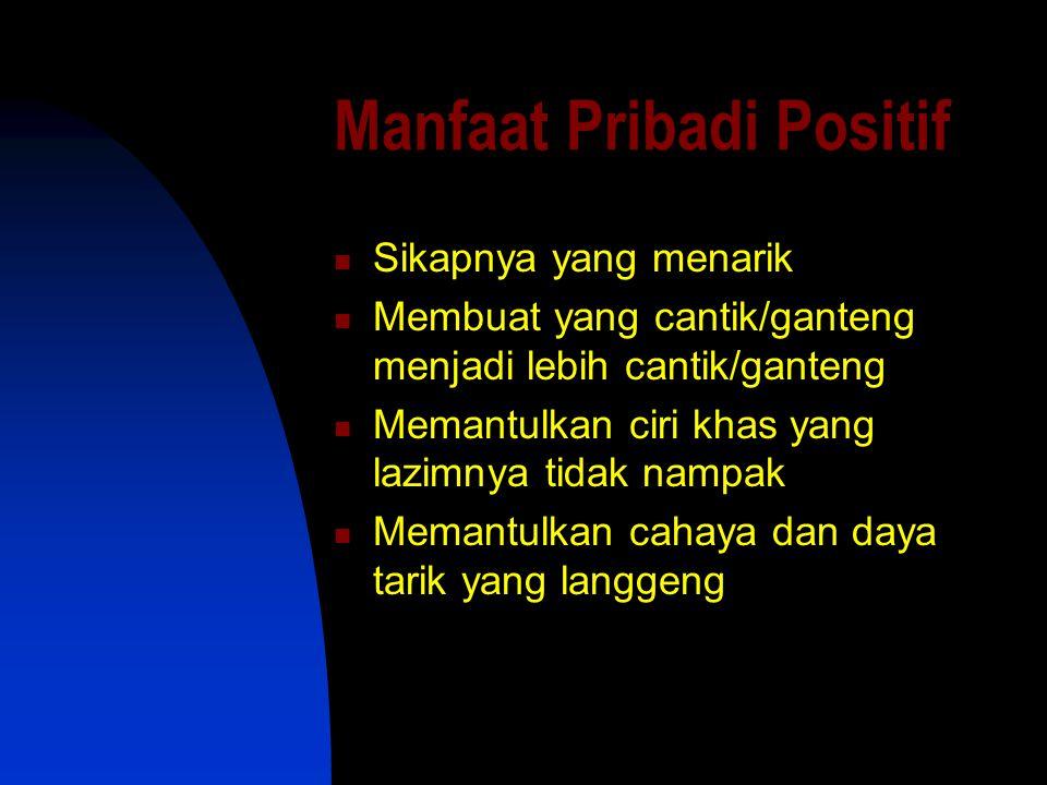 Manfaat Pribadi Positif