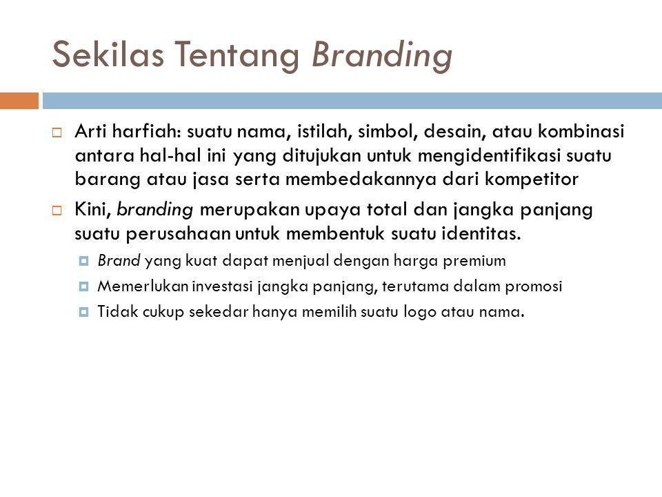 Sekilas Tentang Branding