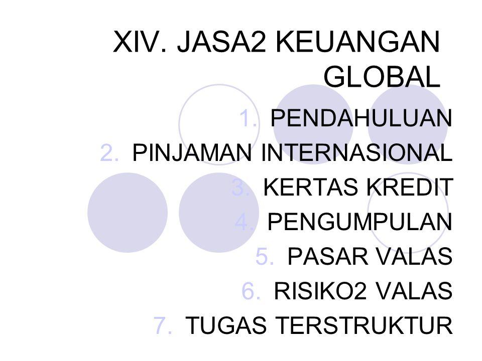 XIV. JASA2 KEUANGAN GLOBAL