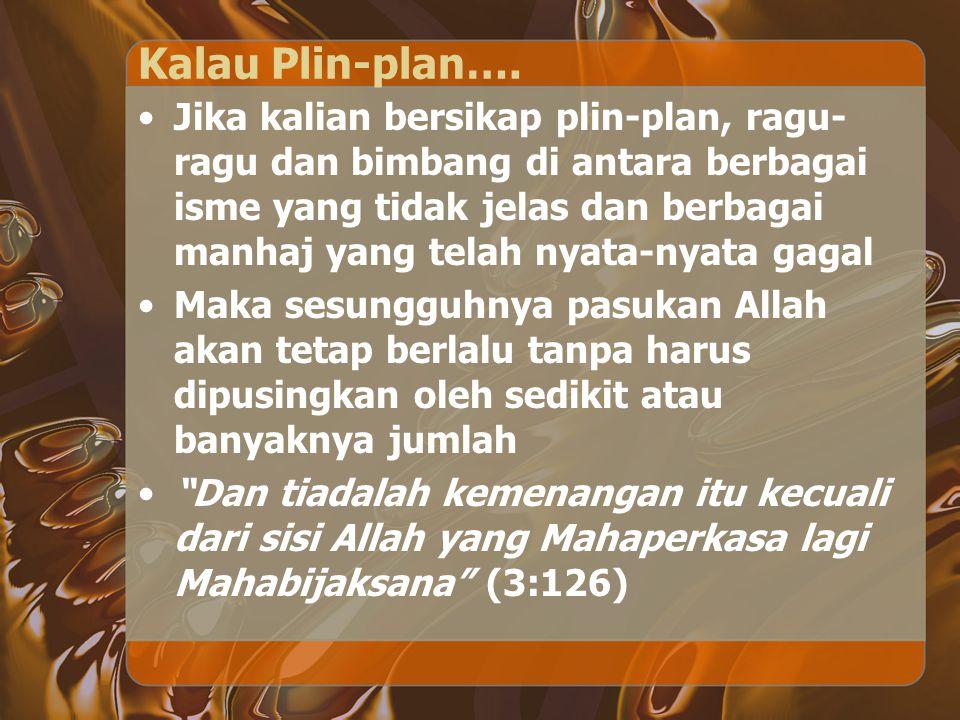 Kalau Plin-plan….