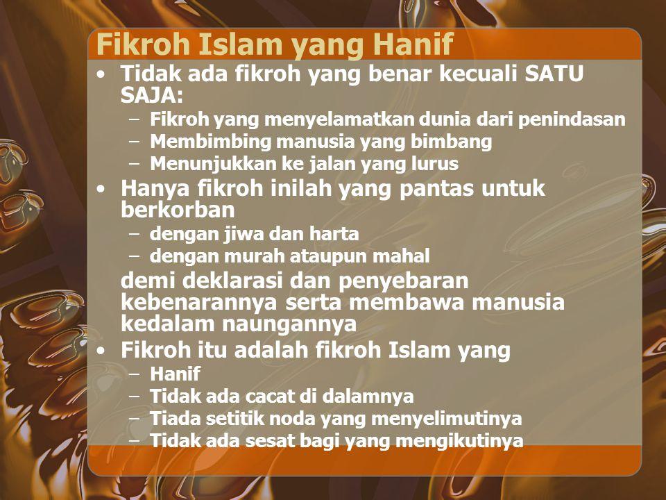 Fikroh Islam yang Hanif