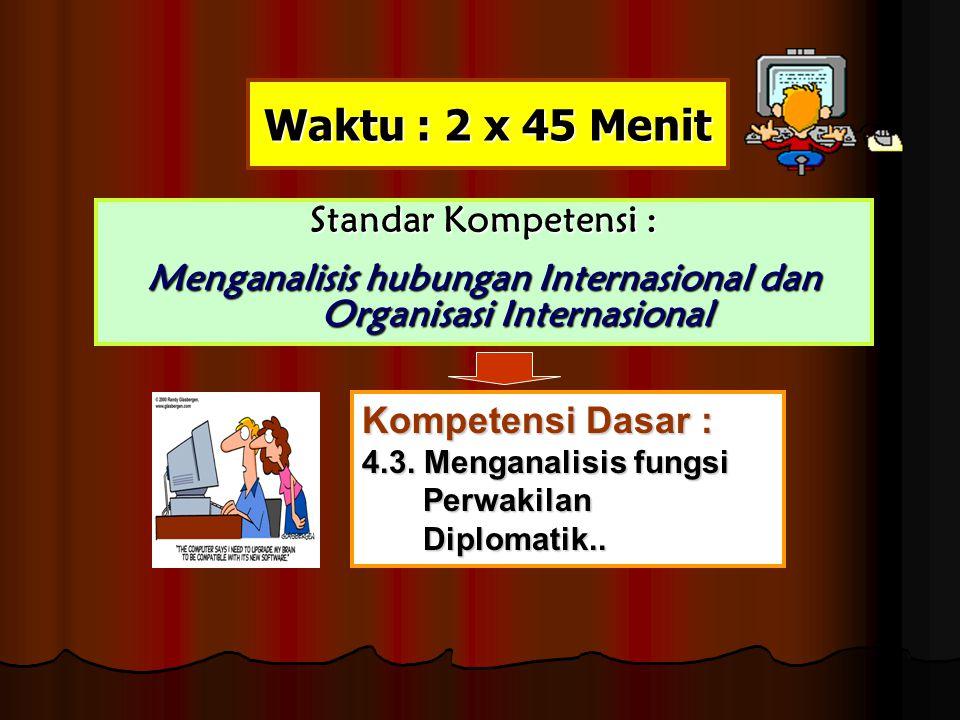 Menganalisis hubungan Internasional dan Organisasi Internasional