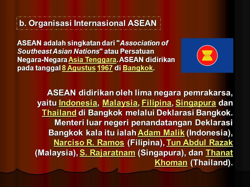 Organisasi Internasional ASEAN