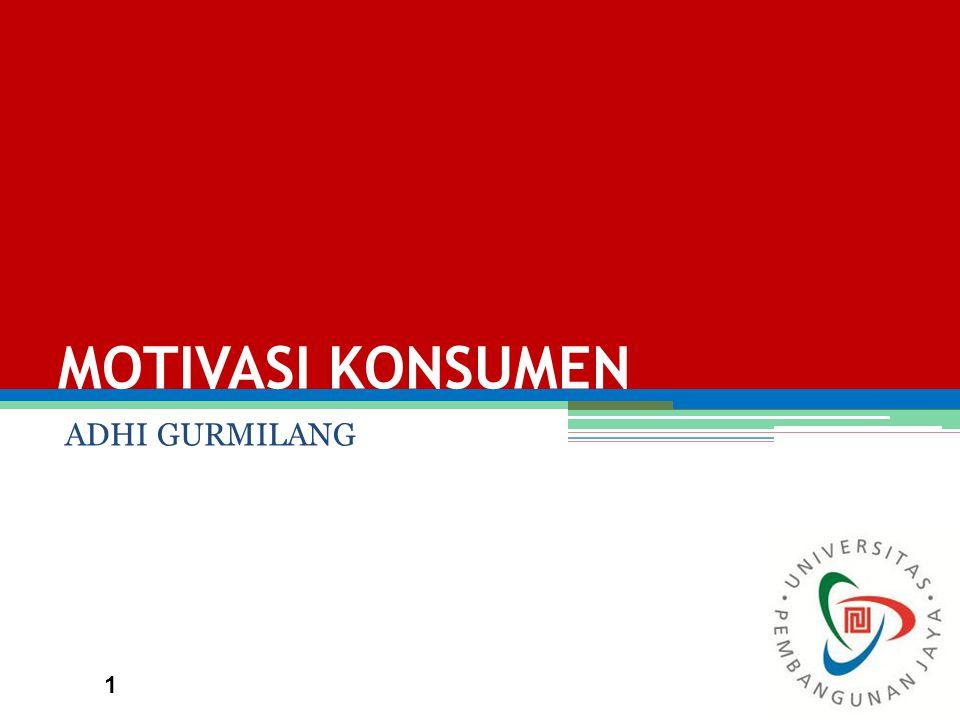 MOTIVASI KONSUMEN ADHI GURMILANG