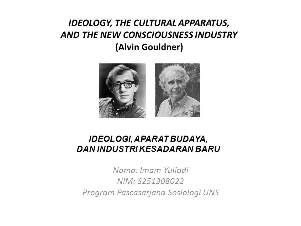 Nama: Imam Yuliadi NIM: S251308022 Program Pascasarjana Sosiologi UNS