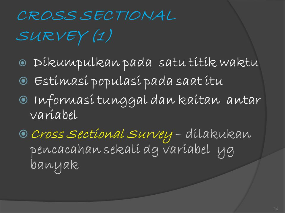 CROSS SECTIONAL SURVEY (1)