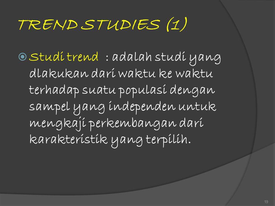 TREND STUDIES (1)