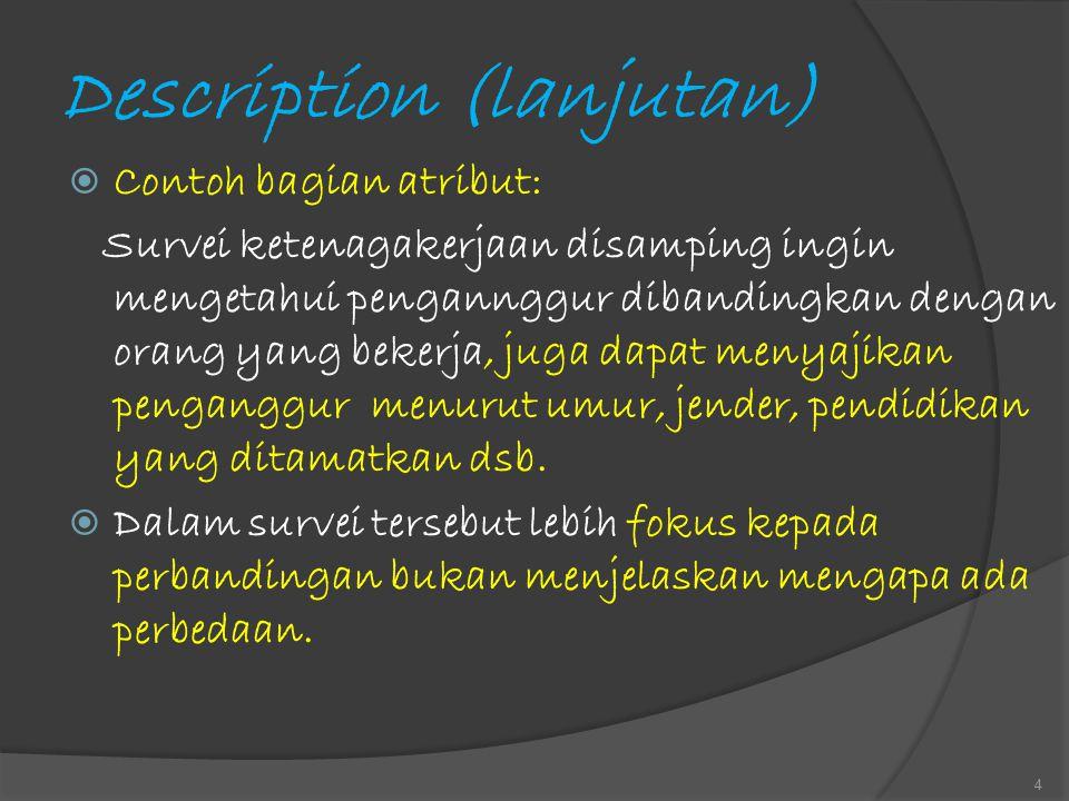 Description (lanjutan)