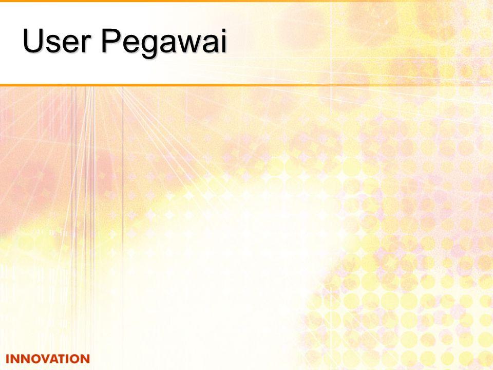 User Pegawai
