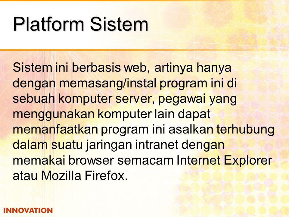 Platform Sistem