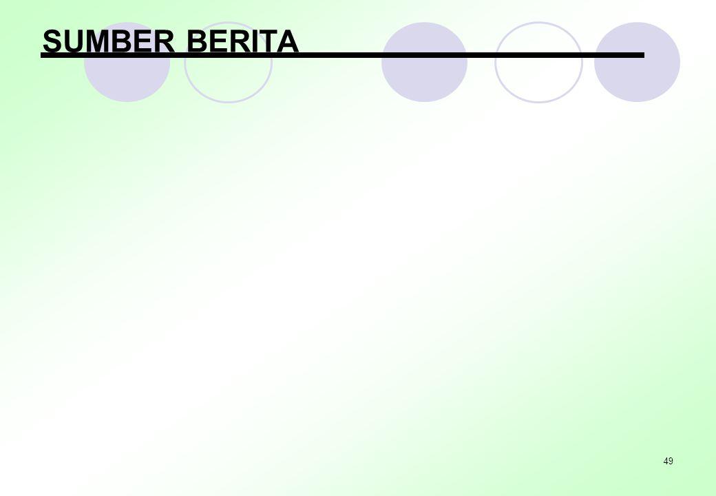 SUMBER BERITA