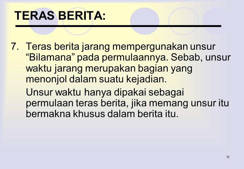 TERAS BERITA:
