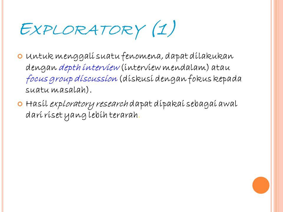 Exploratory (1)