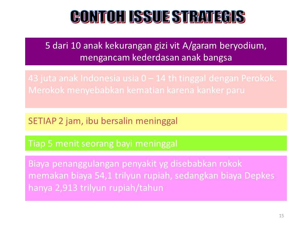 CONTOH ISSUE STRATEGIS