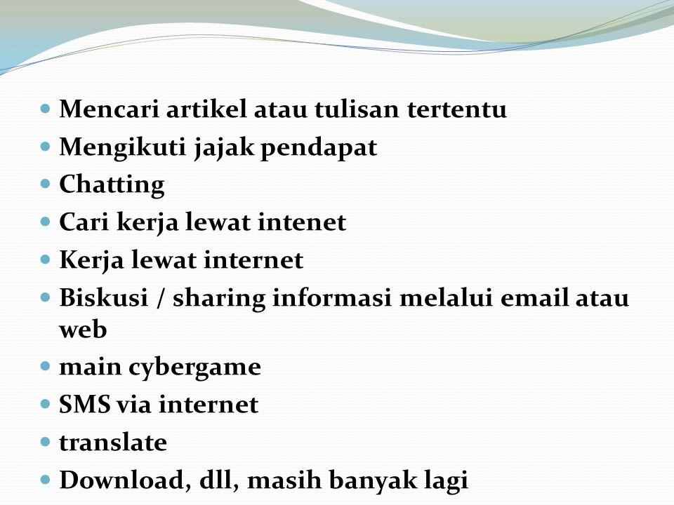Mencari artikel atau tulisan tertentu