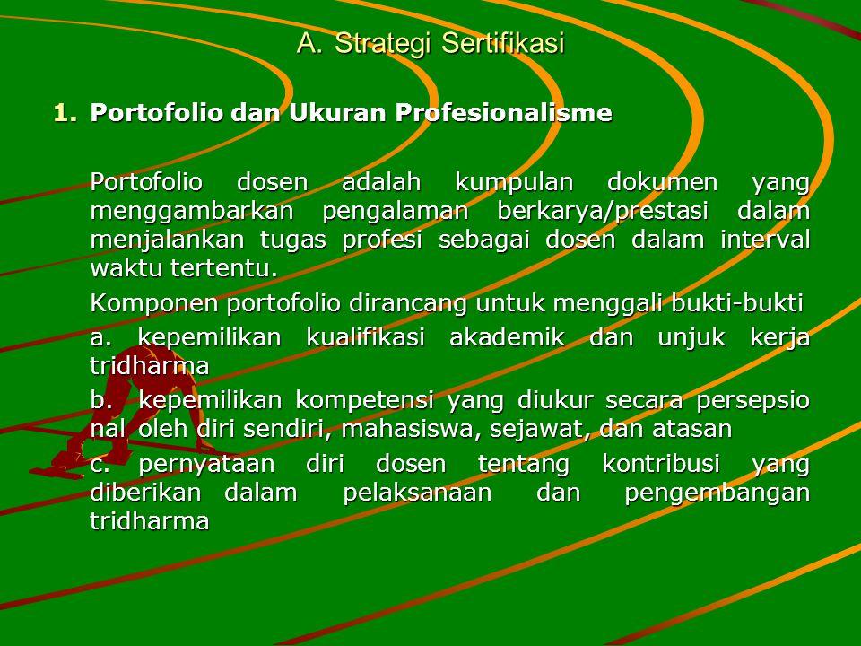 A. Strategi Sertifikasi
