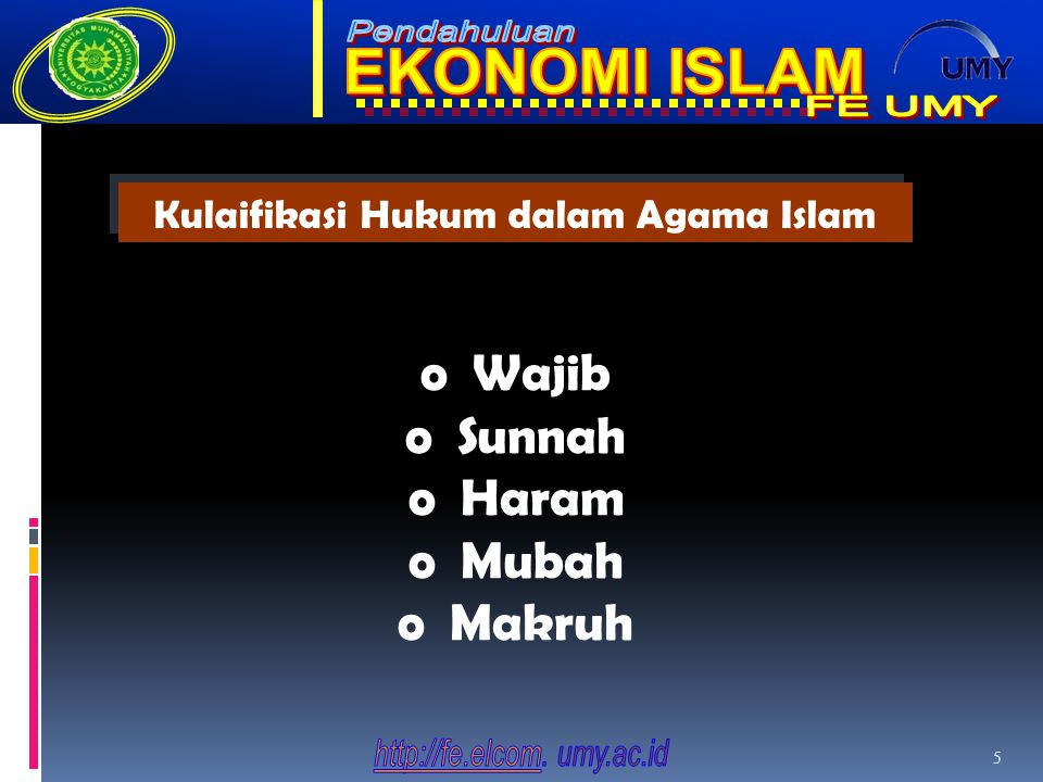 Kulaifikasi Hukum dalam Agama Islam