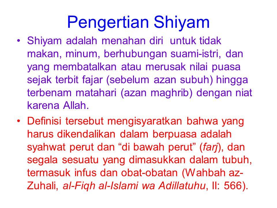 Pengertian Shiyam