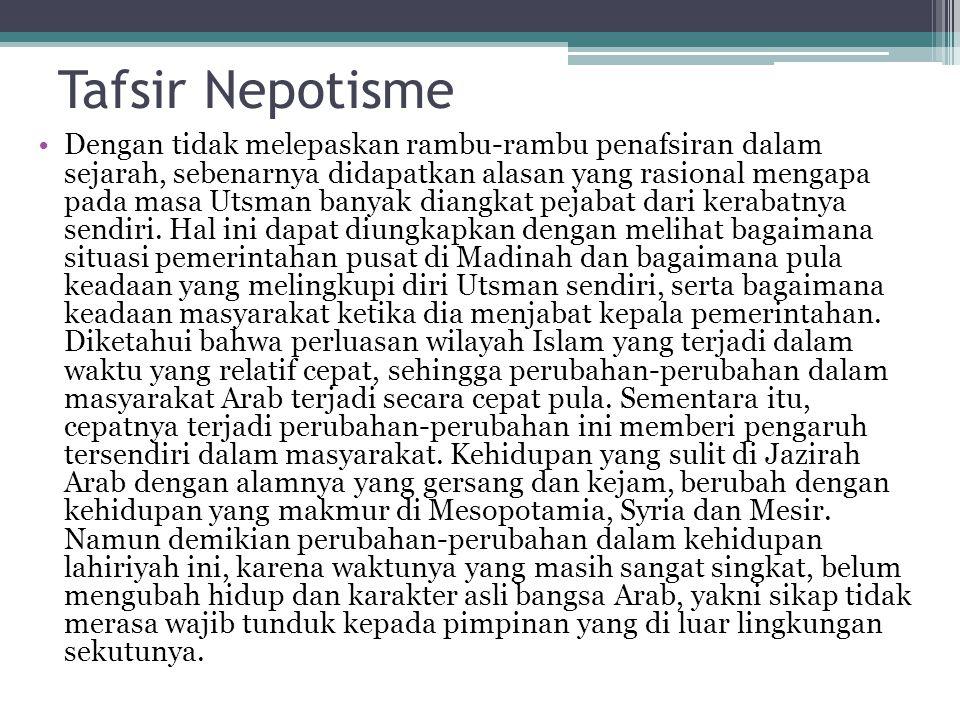 Tafsir Nepotisme