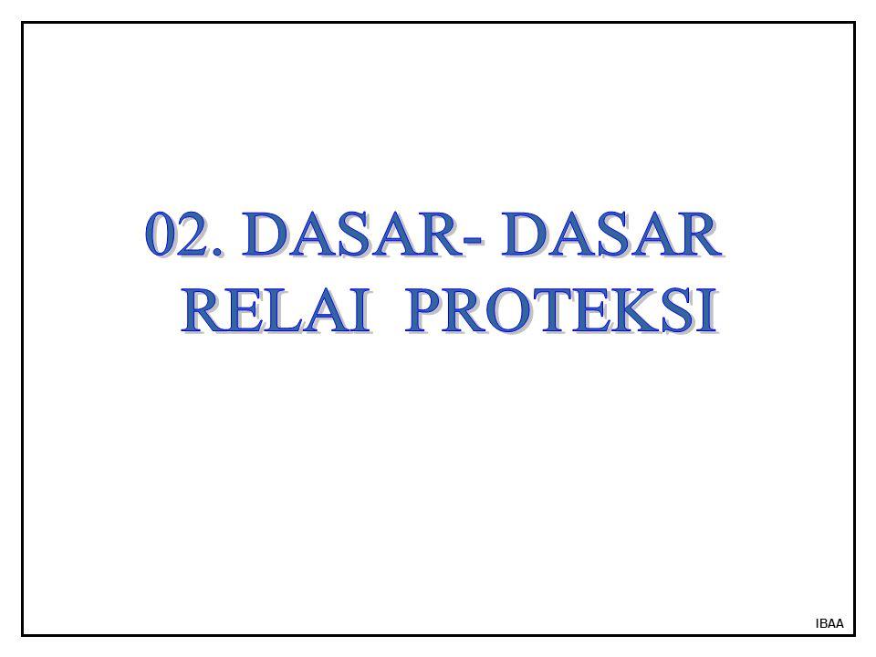 02. DASAR- DASAR RELAI PROTEKSI IBAA