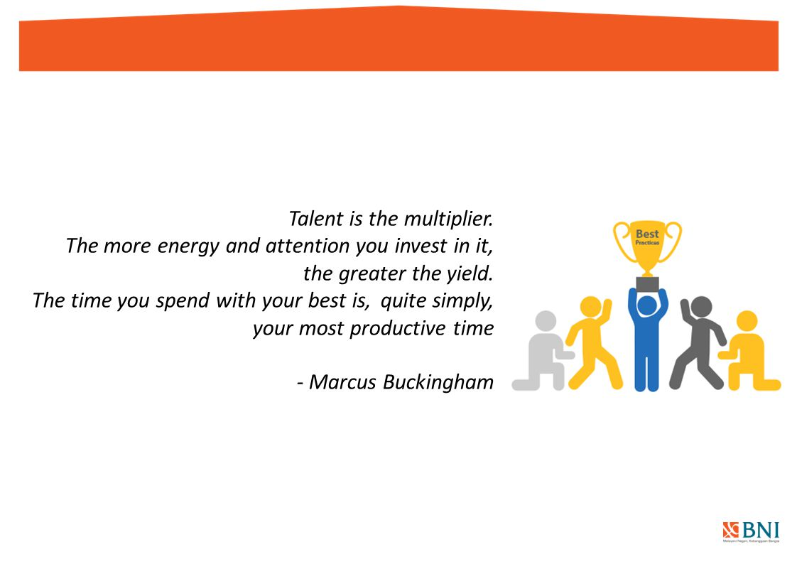 Talent is the multiplier.