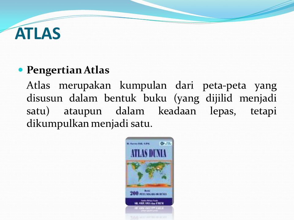 ATLAS Pengertian Atlas