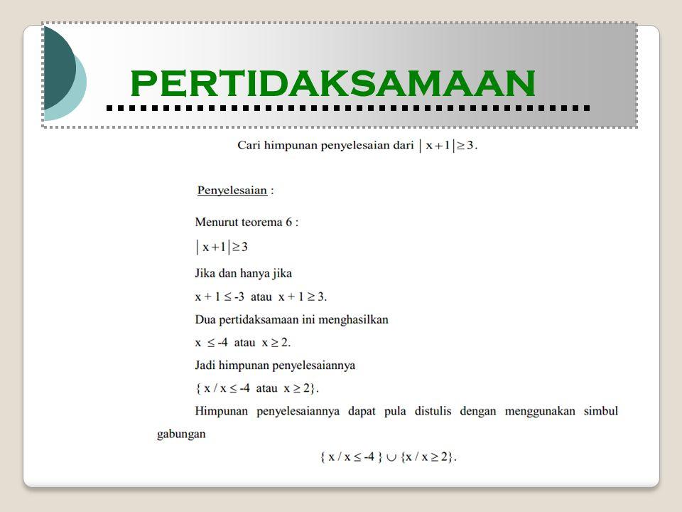 Modul Pembelajaran Matematika Kelas X semester 1