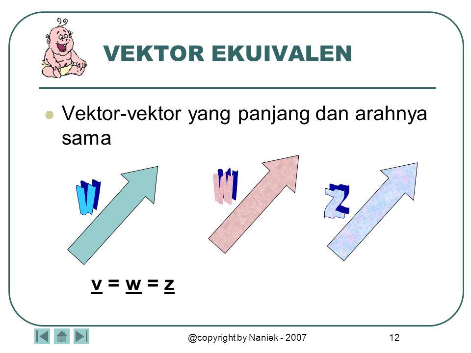Kompetensi Vektor dan Matriks
