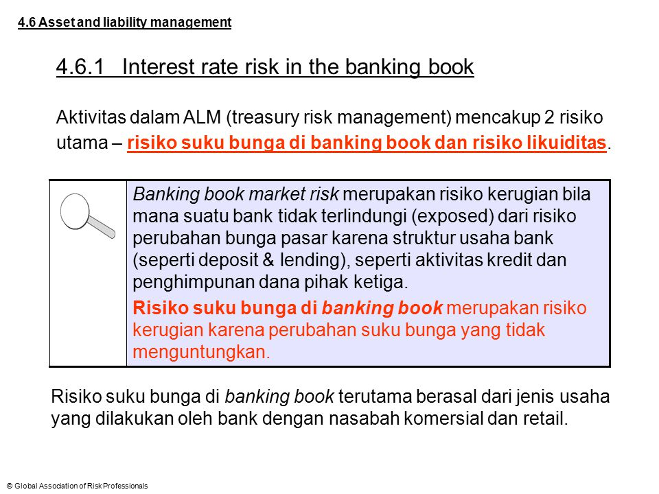 4.6.1 Interest rate risk in the banking book