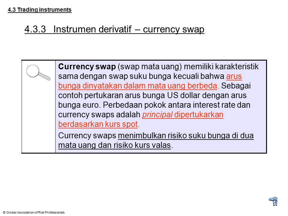 4.3.3 Instrumen derivatif – currency swap