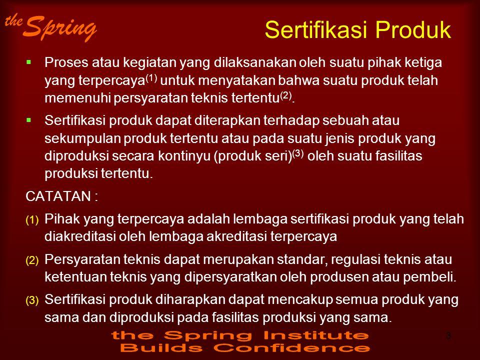 Sertifikasi Produk