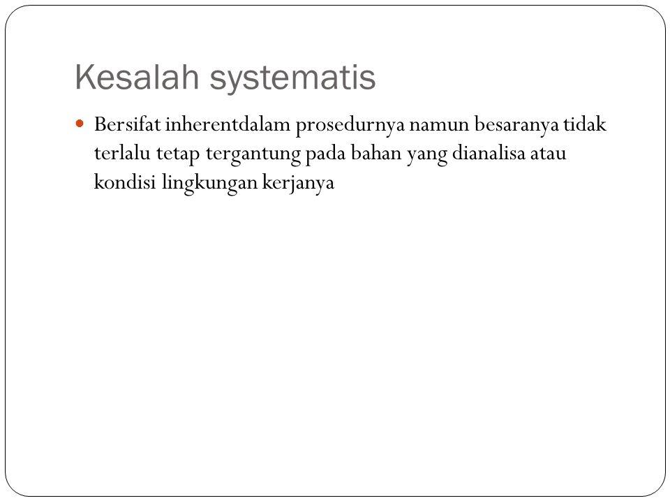 Kesalah systematis