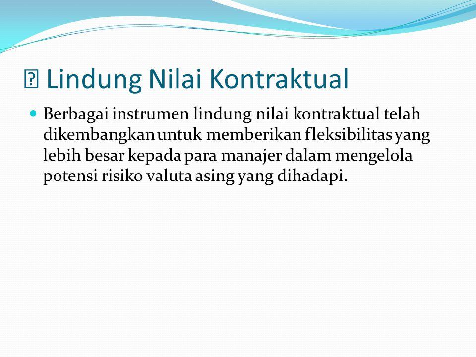 Lindung Nilai Kontraktual