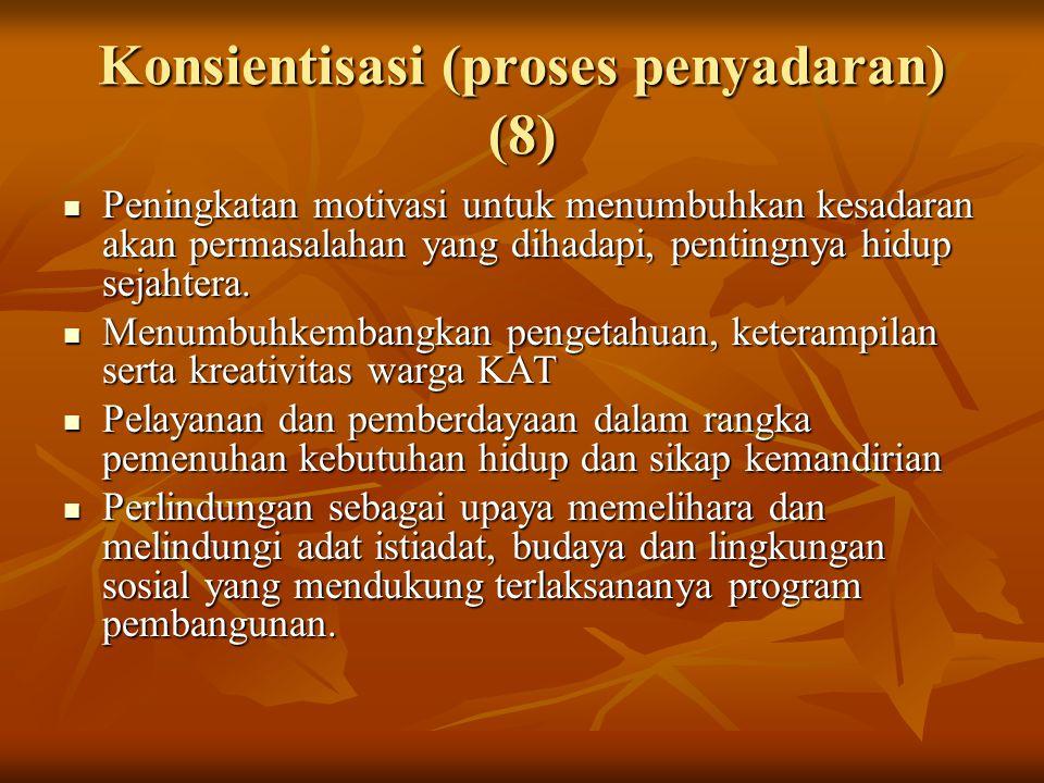 Konsientisasi (proses penyadaran) (8)