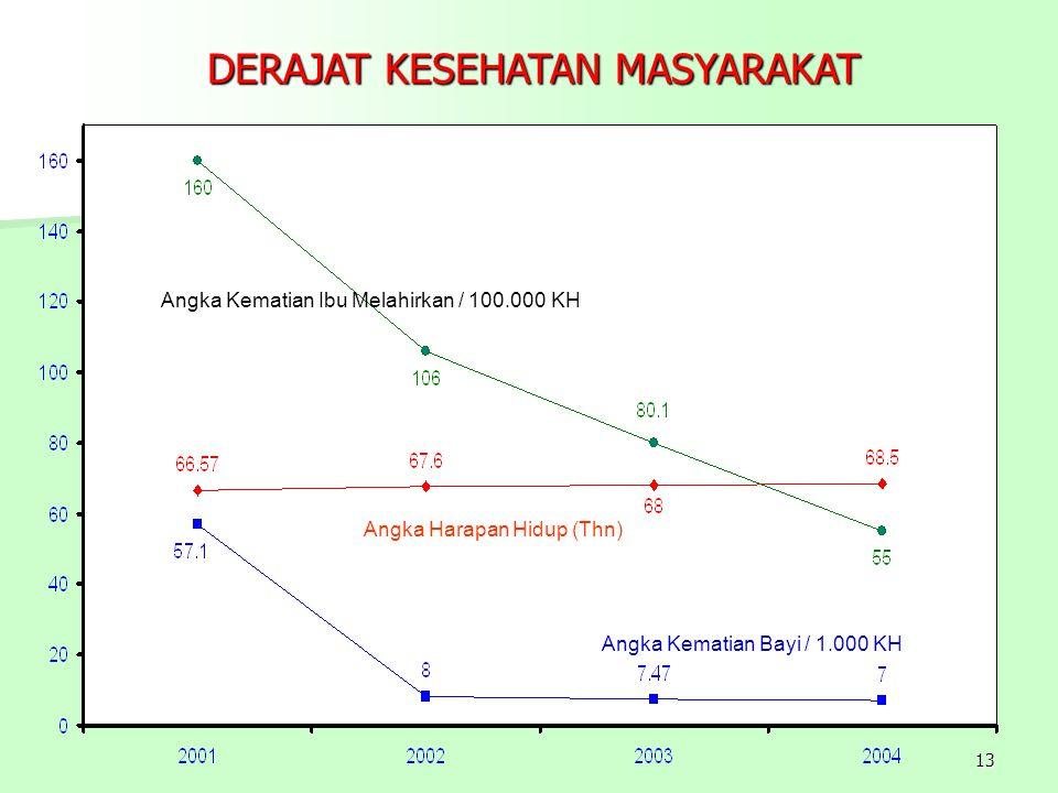 DERAJAT KESEHATAN MASYARAKAT