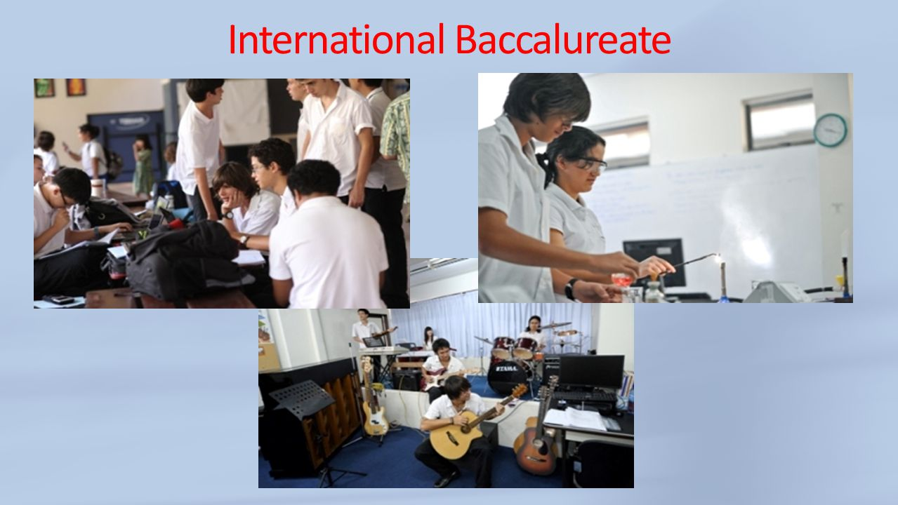 International Baccalureate