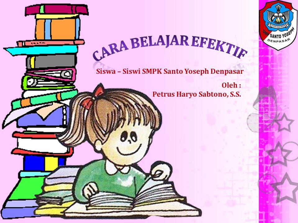 Siswa – Siswi SMPK Santo Yoseph Denpasar