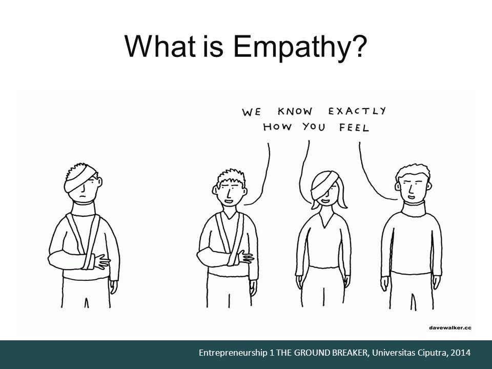 What is Empathy Menurut kamus besar bahasa Indonesia