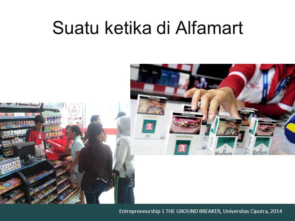 Suatu ketika di Alfamart