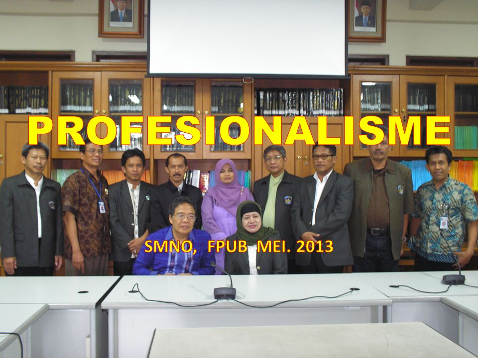 PROFESIONALISME SMNO, FPUB MEI. 2013