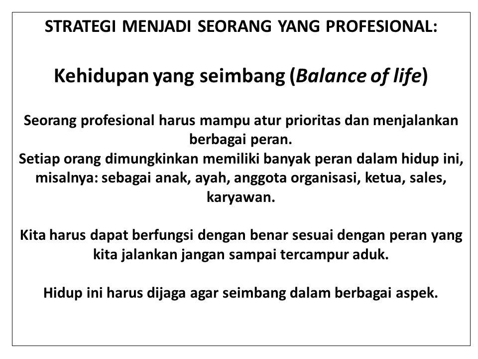 Kehidupan yang seimbang (Balance of life)