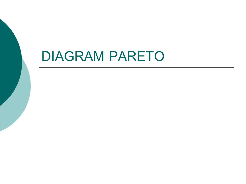 DIAGRAM PARETO
